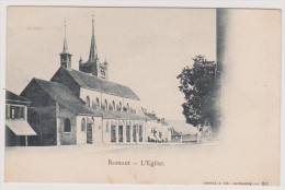 Romont -  L'Eglise - FR Fribourg