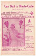 Une Nuit à Monte-Carlo, Jean Boyer, Heymann, Du Fim Le Capitaine Craddock, Charles Redgie, Käthe De Nagy, Jean Murat - Zang (solo)
