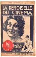 La Demoiselle Du Cinéma, Louis Lemarchand, R. Nazelles, Joseph Szulc, Jenny Golder, Léonce, Partition Chant - Musica & Strumenti
