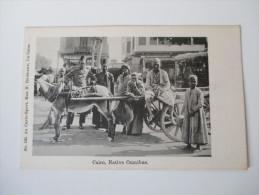 Postcard Cairo, Native Omnibus. Ägypten / Einheimische. Nr. 182. Au Carto-Sport, Max H. Rudmann, Le Caire - Kairo