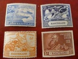 Basutoland UPU 1949 MH - 1933-1964 Colonie Britannique