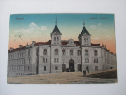 Postcard Ungarn Belgrad Laktanya - Kaserne 1916 K.u.K. Bahnhofkommando In Belgrad / K.u.K. Etappenpostamt Belgrad - Serbien