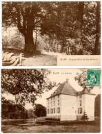 2 Cpa Belgique, Tilff (gros Hêtre, Château) - Belgique