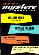 Mystère-Magazine N° 165 - ( Octobre 1961 ) . - Livres, BD, Revues