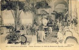 CPA - TROUVILLE-SUR-MER. Casino Municipal. La Salle Du Restaurant - 2 Scans - Trouville