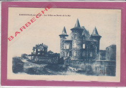 50.- BARNEVILLE-sur-MER .- Les Villas Au Bords De Mer - Barneville
