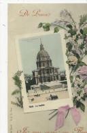 Série   De Paris  Je Vous Envoie Ces Fleurs   Les Invalides - France