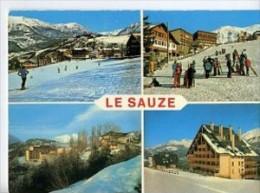 CP04237 - LE SAUZE - Carte Souvenir, Vues Diverses - France