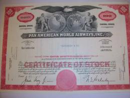 2601  -- Etr. - U.S.A. -  PAN  AMERICAN  WORLD AIRWAYS  -  Titre De 100 Actions Dédié - Shareholdings