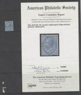 Italy 1877 - Michel#27 C/v 7000 Euro, CERTIFICATE !!!!! - Nuovi