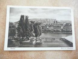 GENEVE -  Ile J.J. Rousseau - GE Genève