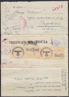 4902. WWII, Italy, POW (prisoner Of War) Mail, Censored Letter From Prisoner Camp In Italy To Serbia Via Red Cross - Correo Militar (PM)