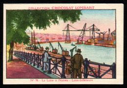 Chocolat LOMBART  N° 96 La Loire à Nantes - Lombart
