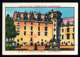 Chocolat LOMBART  N° 95 Loire Atlantique Château De Nantes - Lombart