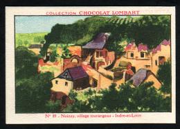 Chocolat LOMBART  N° 89 Indre Et Loire Noisay Maisons - Lombart