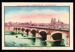 Chocolat LOMBART  N° 87 Loiret Orléans - Lombart