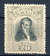 "1901 Ecuador 1 MNH Stamp ""Doctor Cruz"" Michel  128 - Ecuador"