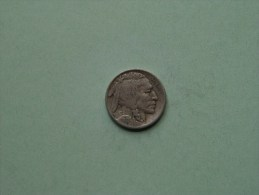 1917 D - Buffalo Nickel ( Rare / Scarce Date ) KM 134 ( For Grade, Please See Photo ) ! - Federal Issues