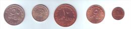 Qatar 5 Coins Lot - Qatar