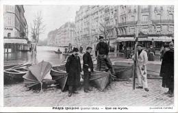 PARIS INONDE (Janvier 1910) - Rue De Lyon - Überschwemmungen