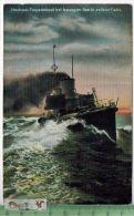 Hochsee-Torpedoboot - 1913 - Verlag: Hermann Edliefsen, Kiel, POSTKARTE Ohne Frankatur, Mit  Stempel HELGOLAND - Helgoland