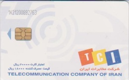 IRAN - TCI - Irán