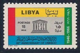Libya, Scott # 310 Mint Hinged UNESCO, 1967 - Libya