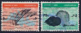 Libya, Scott # 320, 324 Used Mediterranean Sports, 1967 - Libya