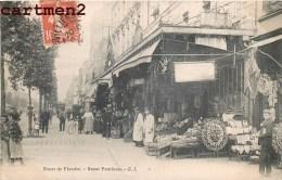 """PARIS LA ROUTE DE FLANDRE """" BAZAR PANTINOIS """" DEVANTURE COMMERCE MAGASIN 75019 - Arrondissement: 19"""