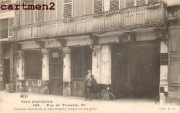 PARIS LA RUE DE TURENNE CURIEUSE BOUCHERIE DE STYLE EMPIRE - Arrondissement: 04