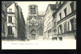 Seine Inférieure 76 Rouen 87 L'Eglise Saint Vincent LL Pionnière - Rouen