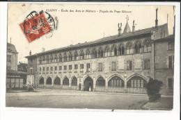 71 CLUNY ECOLE DES ARTS ET METIERS FACADE DU PAPE GELASE - Cluny