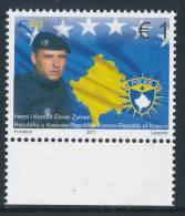 REPUBLIC OF KOSOVO 2011, National Hero- Enver Zymeri** - Kosovo