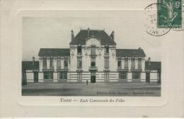 YVETOT Ecole Communale De Filles -1914- Bon état - Yvetot