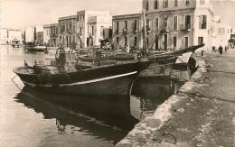 CPA-1955-TUNISIE-BIZERTE-PORT DE PECHE-LES QUAIS-TBE- - Tunisie