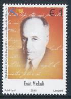 REPUBLIC OF KOSOVO 2011, Poet Esat Mekuli 95th Birth Anniversary** - Kosovo