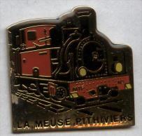 Pin´s Train La Meuse Pithiviers - Trasporti