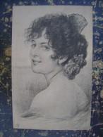 Girl-cca 1900 (2662) - Femmes Célèbres