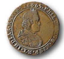 Jeton PHILLIPE IV - 1665 - Bureau Des Finances - Royaux / De Noblesse