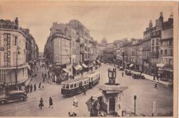 CPSM Animée - CLERMONT FERRAND (63) - Place Gaillard, Avenue Des Etats-Unis Et La Rue Du 11 Novembre - 1947 - Clermont Ferrand