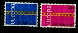 Pays Bas Europa Y&t N°932.933.oblitérés - Period 1949-1980 (Juliana)