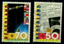 Pays Bas Europa Y&t N°1002.oblitérés 1003neuf - 1949-1980 (Juliana)