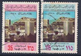 Libya, Scott # 740-1 Used Turkish-Libyan Friendship, 1978 - Libya