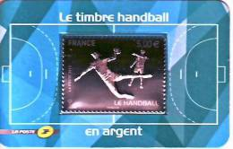 France 2012** Timbre Argent Handball - Ungebraucht