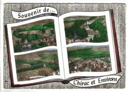 CPSM CHIRAC (Lozère) - 4 Vues - Autres Communes