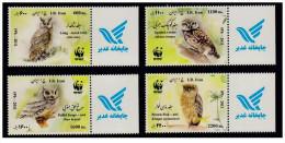 2011 - Wwf Owls Set With Lable - Iran - Iran