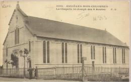 ASNIERES-BOIS-COLOMBES - La Chapelle St-Joseph Des 4 Routes - Animé - Asnieres Sur Seine
