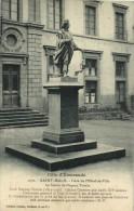 SAINT MALO  Place De L'Hotel De Ville La Statue De Duguay Trouin  Recto Verso - Saint Malo