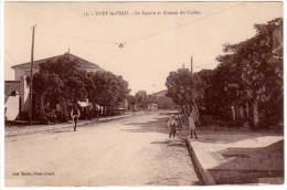 Cpa Algérie, Fort De L'Eau - Le Square Et Avenue Du Casino - Algérie