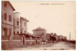Cpa Algérie, Fort De L'Eau - Boulevard Front De Mer - Algérie